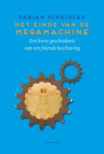 © Uitgever Lemniscaat B.V., boekomslag Het einde van de megamachine