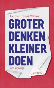 © Uitgeverij Prometheus cover boek Herman Tjeenk Willink